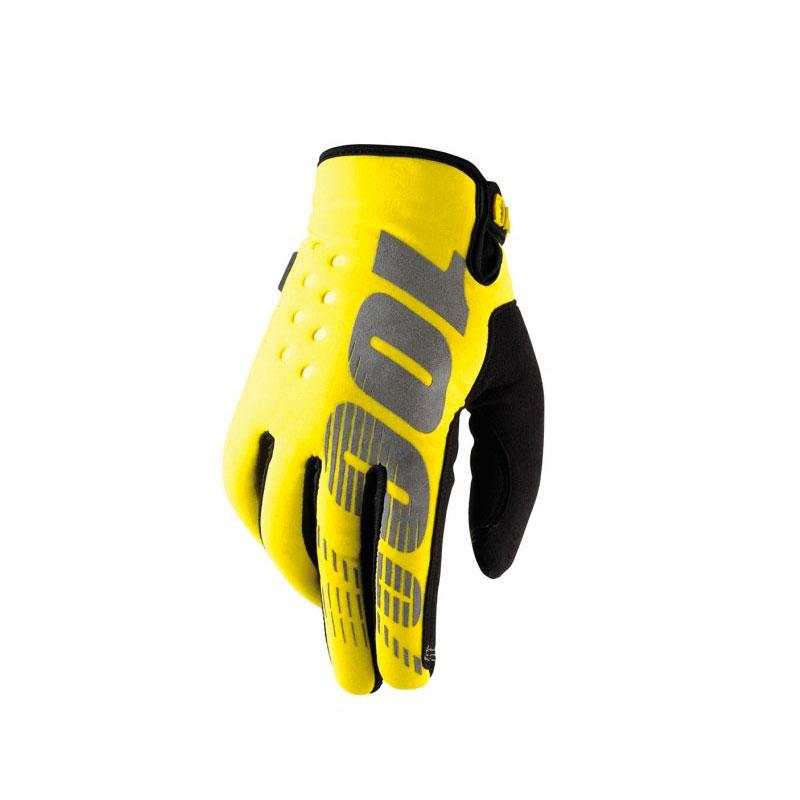 100% Brisker Neon Yellow