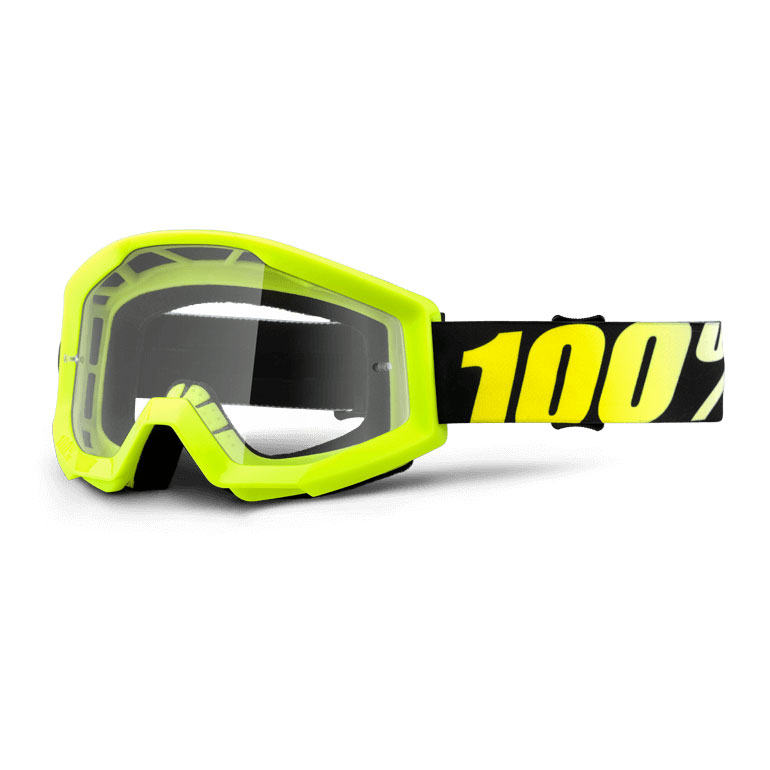 100% Strata Neon Yellow