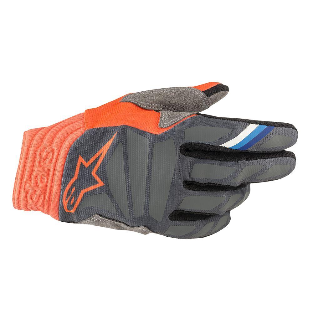 Alpinestars Aviator Handschuh 2019 anthrazit orange fluo