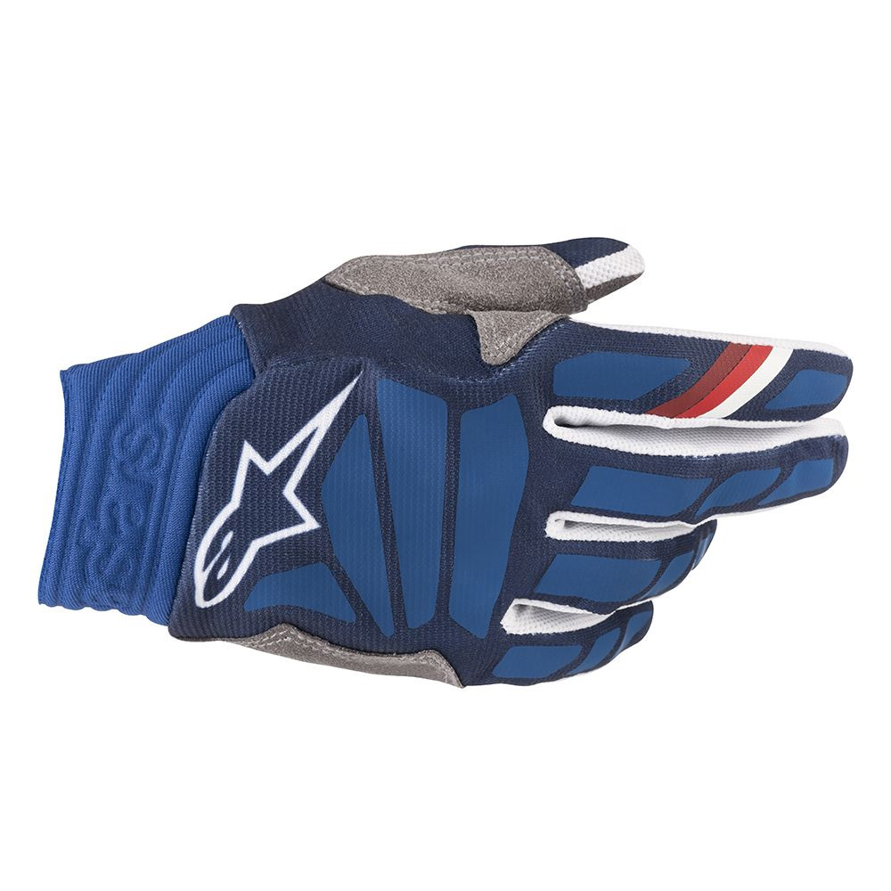 Alpinestars Aviator Handschuh 2019 dunkelblau weiß