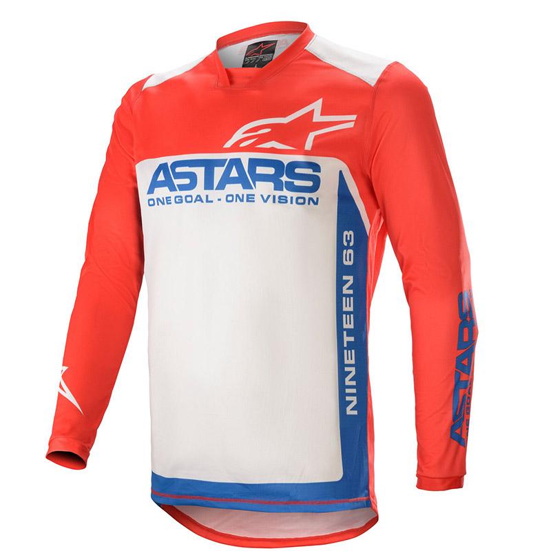 Maglia Alpinestars Racer Supermatic 2021 Rosso