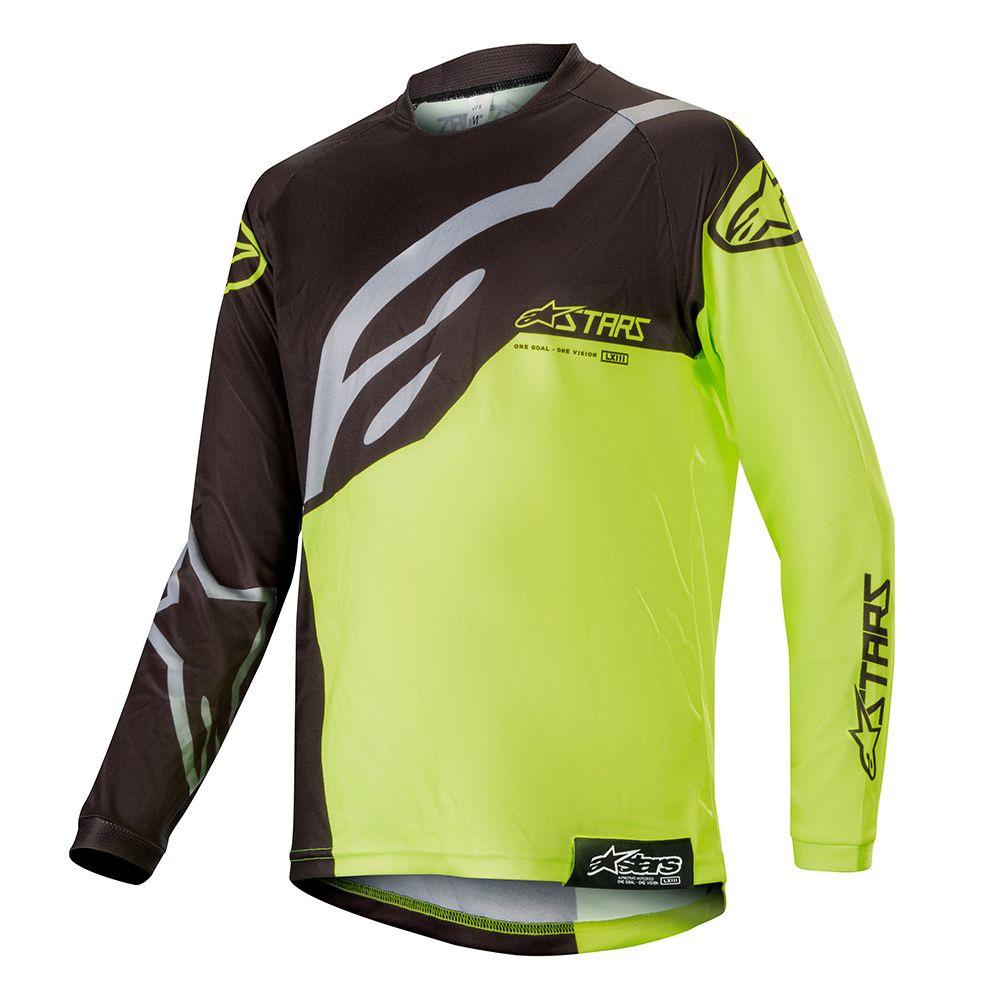 Alpinestars Youth Racer Factory Jersey 2019 gelb schwarz