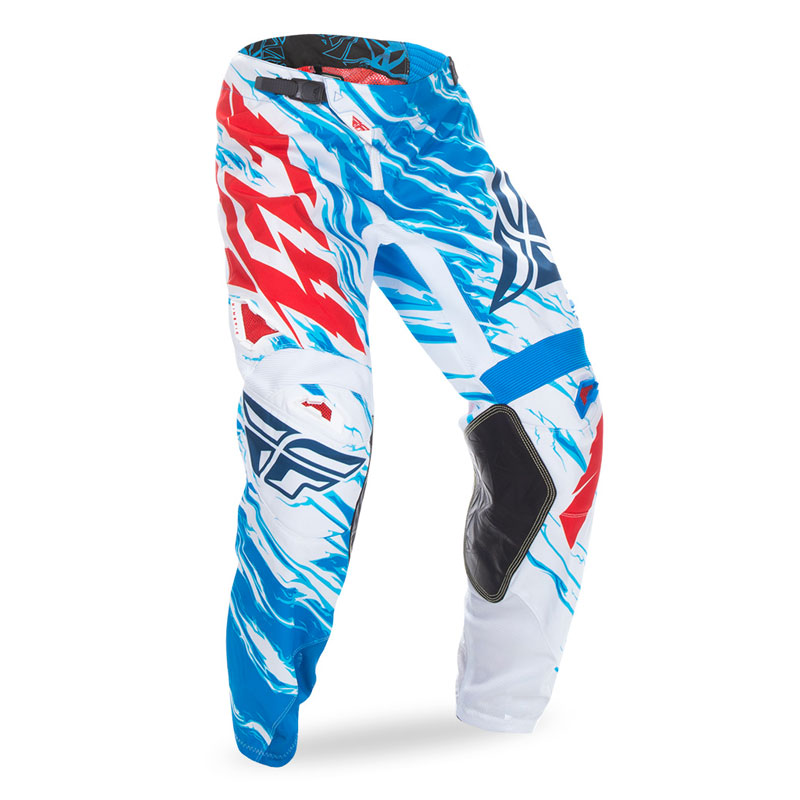 Fly Kinetic Relapse Pant Blu Bianco