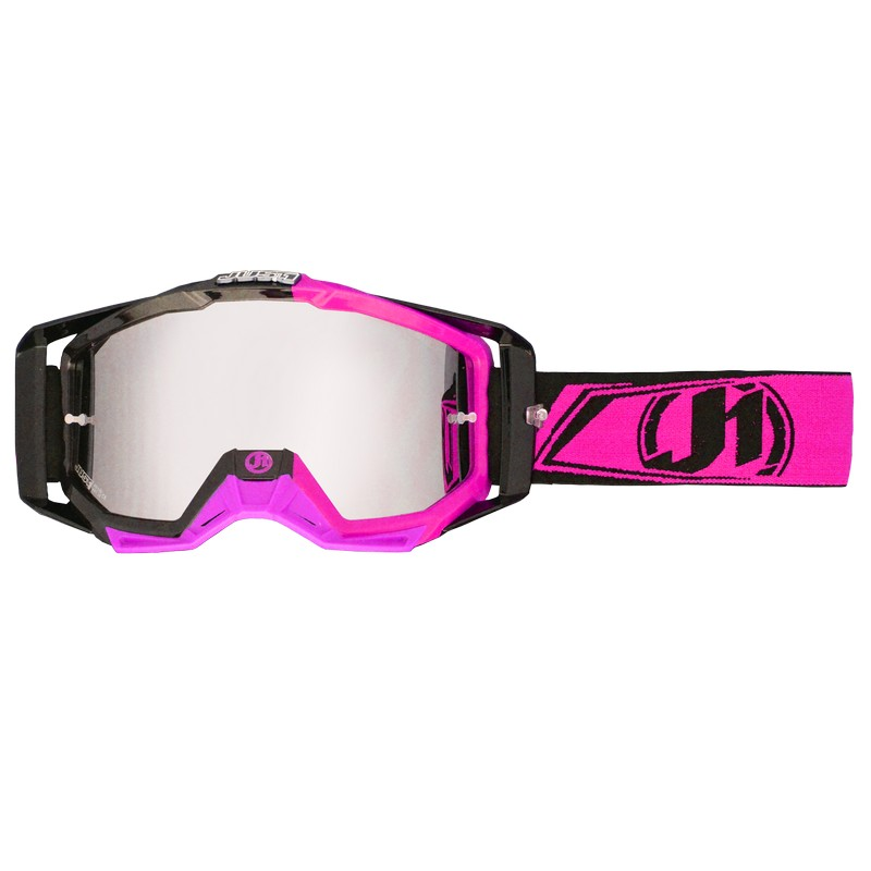 Just1 Goggle Iris Carbon Fluo Pink