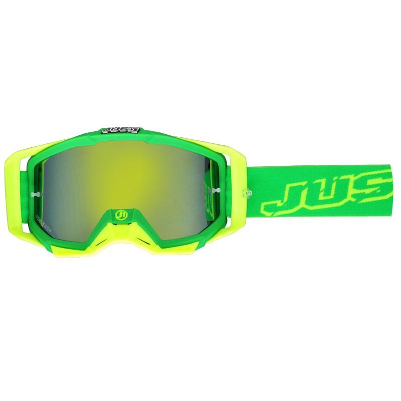 Just1 Goggle Iris Neon Green Yellow