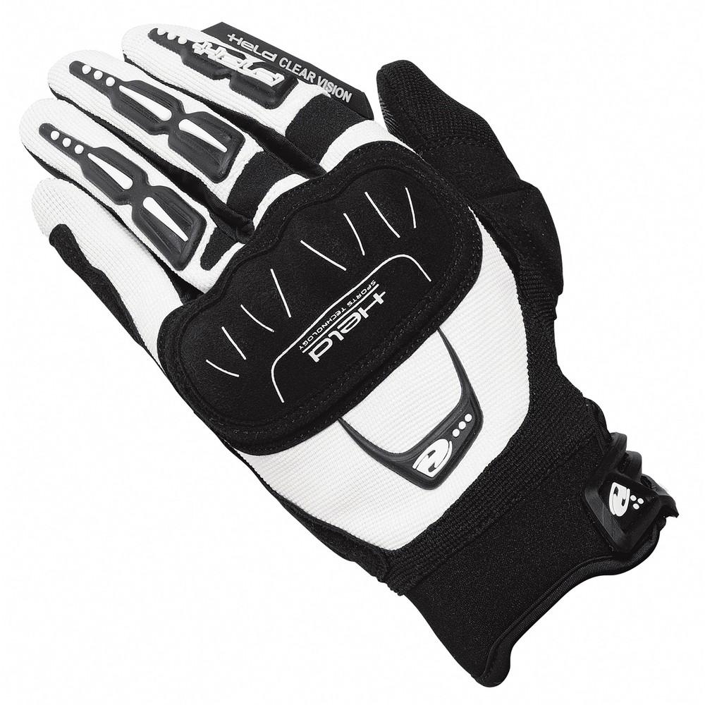 Held Offroad Backflip Handschuhe weiß schwarz