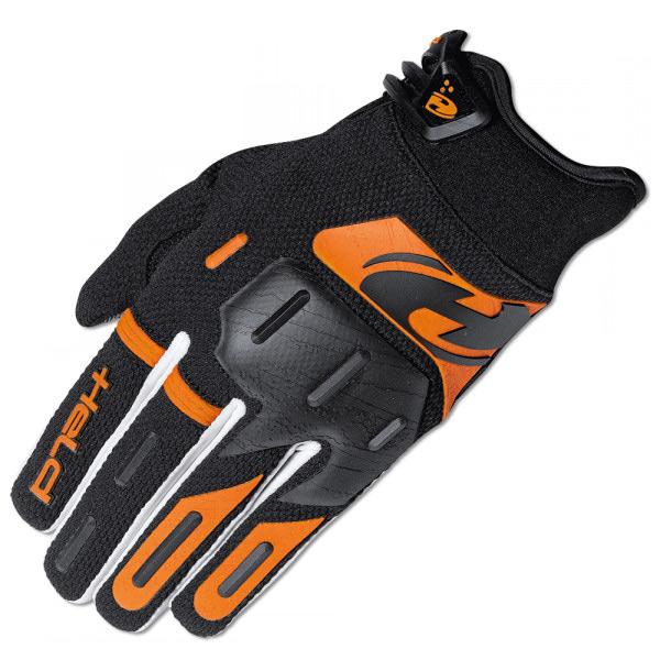 Held Offroad Hardtack Handschuhe schwarz orange