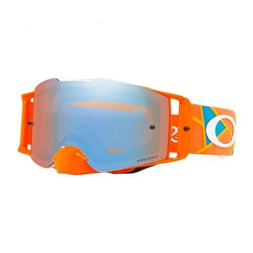 Oakley Front Line Mx Tld Metric Red Orange - Prizm™ Sapphire Lens