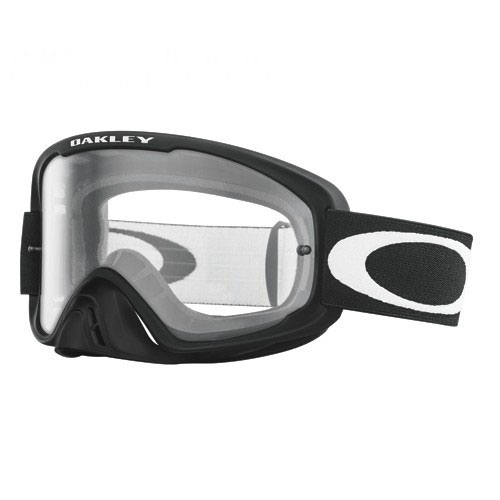 Oakley 02 Mx-matte Black W/ Clear