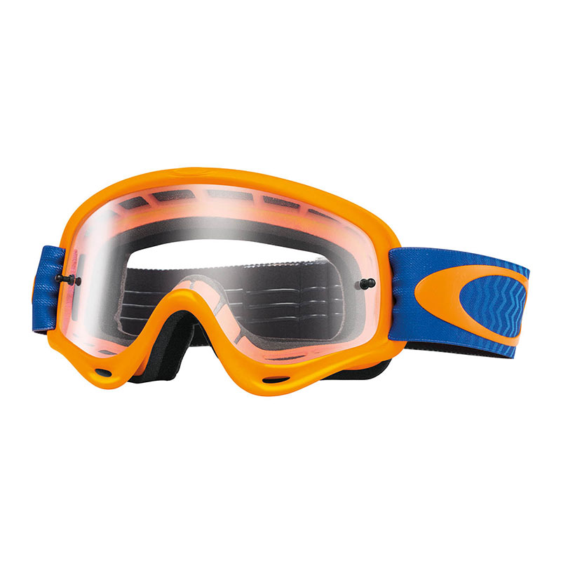 Oakley O-frame Mx Shockwave Orange/blue - W/clear