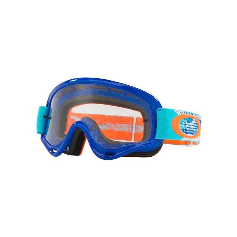 Oakley Xs O Frame Treadburn Orange/blue - Lens Dark Grey