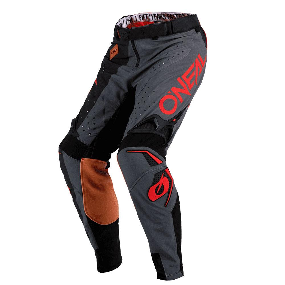 Pantaloni O'neal Prodigy Five Zero Nero Rosso