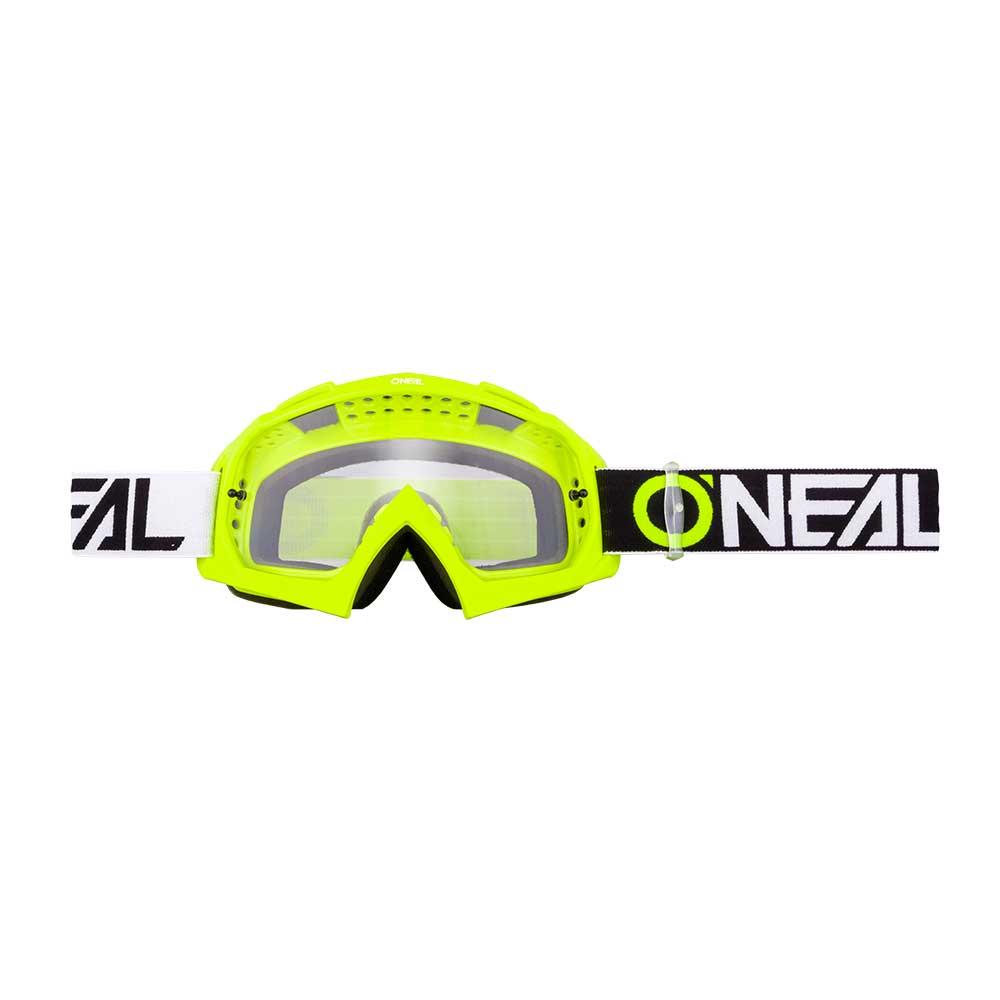 O'neal B-10 Two Face Goggle Trasparente Giallo