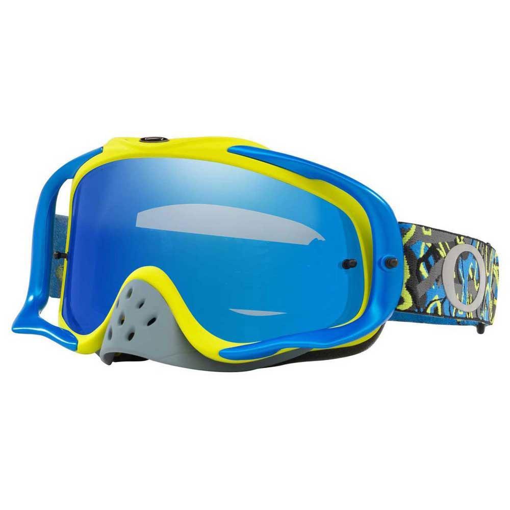 Oakley Crowbar Camo Vine Nacht blaugrünes Objektiv Ice Iridium & Clear