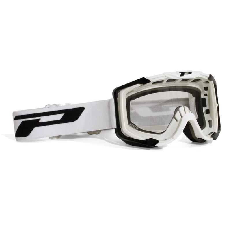 Progrip 3400TR Menace Mx / Enduro Schutzbrille Weiss