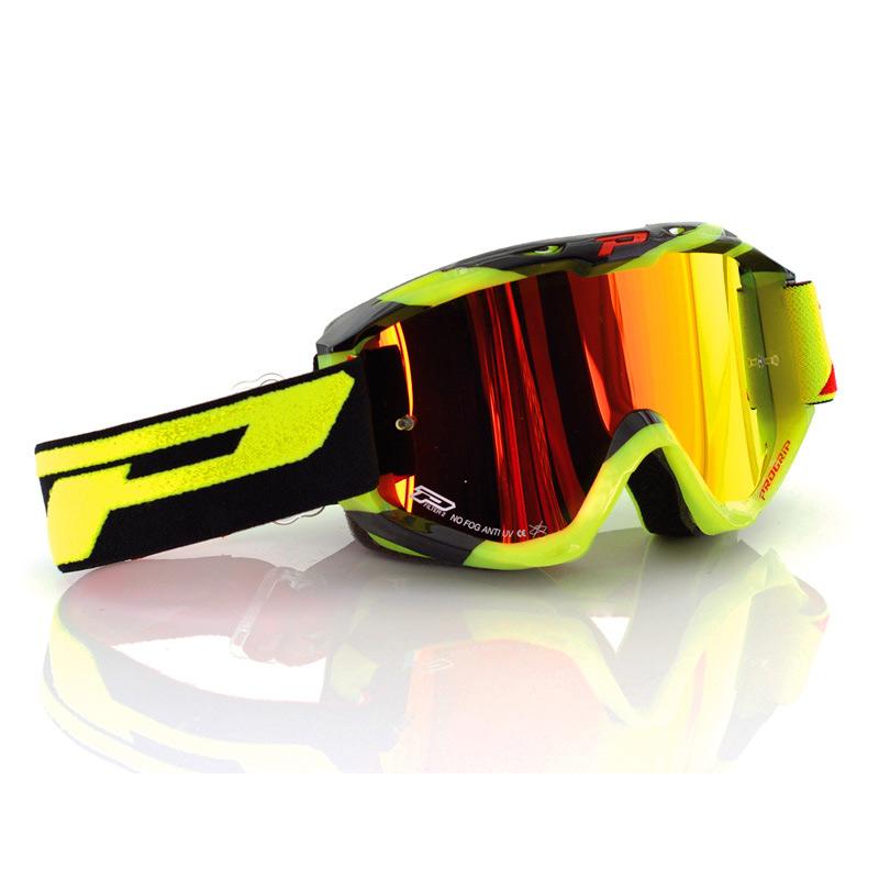 69c065a89e Progrip 3450FL Mx Goggles Riot Espejo amarillo PG3450FL-YF Ropa ...