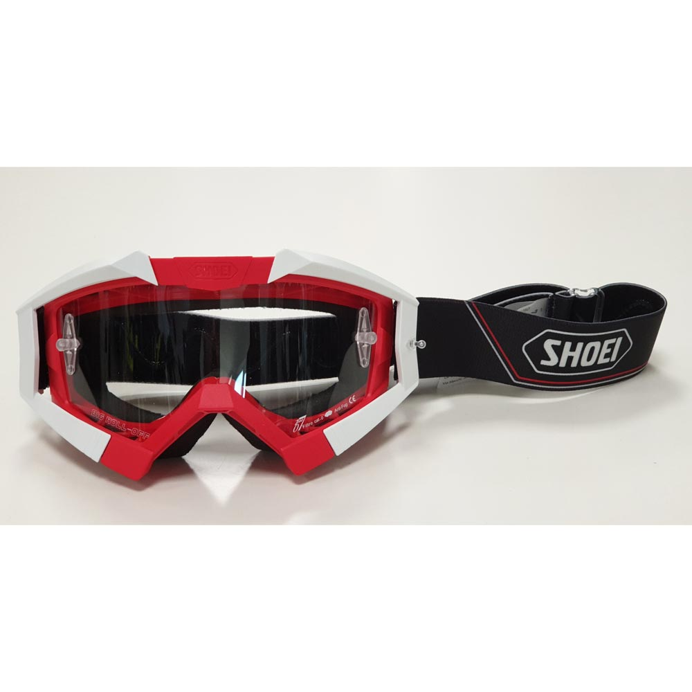 Shoei Riding Crows Off-road Goggles Rosso
