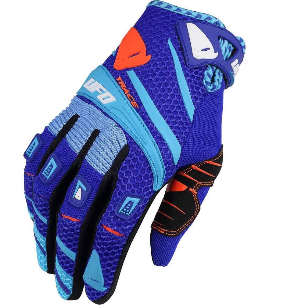 Ufo Trace Handschuhe Blau
