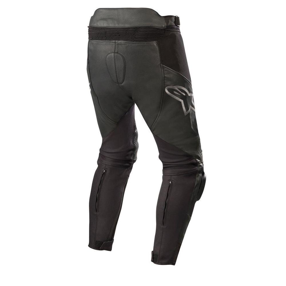50 Black//White Motorcycle jeans Alpinestars Sp X Pants Black White
