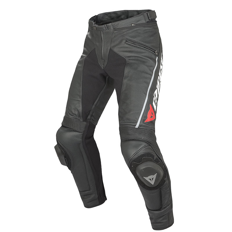 Dainese Delta Pro C2 Perforated Leather Pants Black