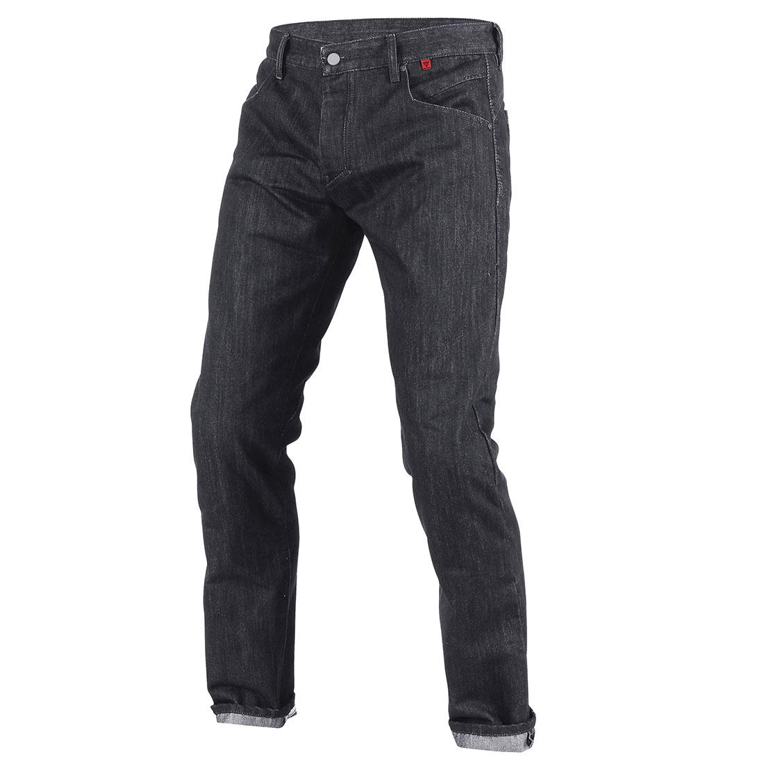 Dainese Strokeville Slim Jeans Aramid Denim Nero