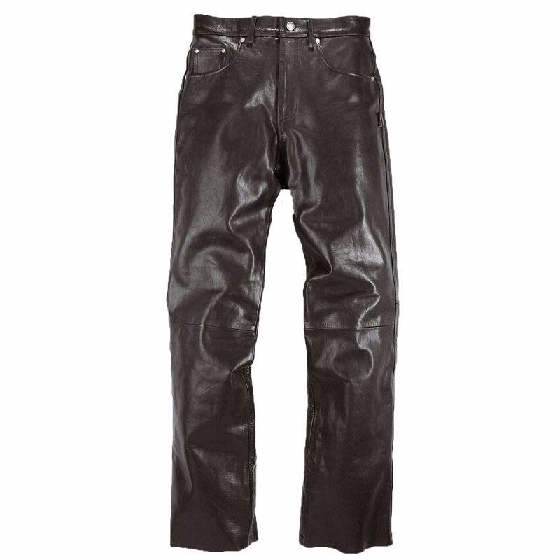 Pantaloni In Pelle Helstons Corden Rag Nero