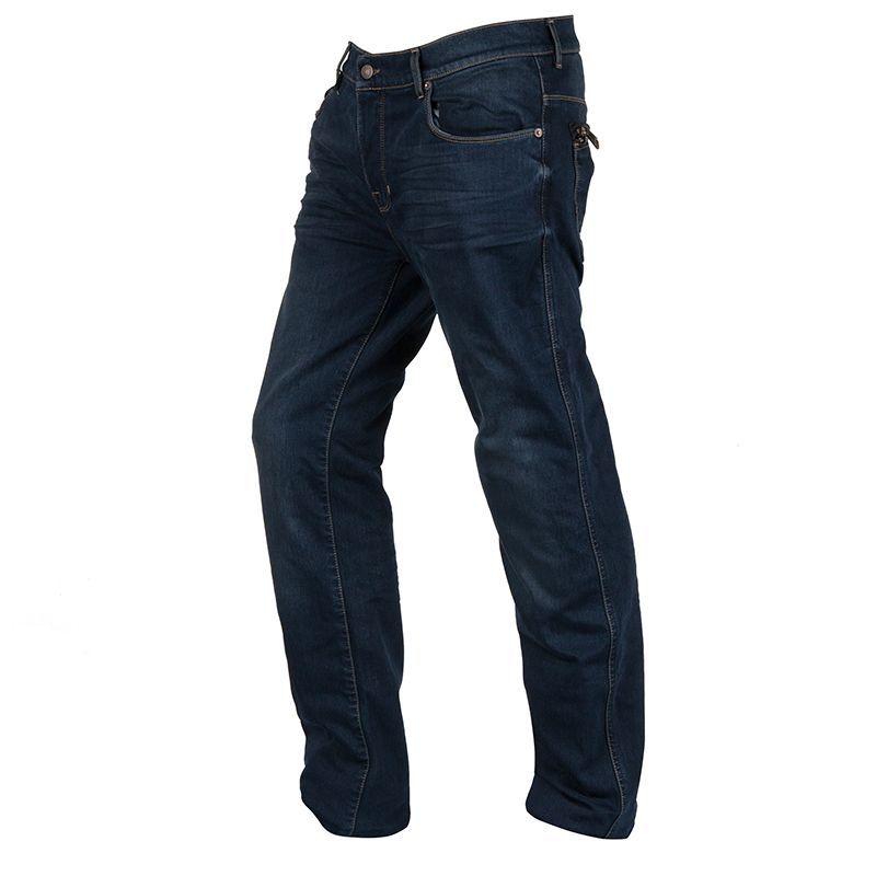 Jeans Moto Helstons Corden Superstretch Blu