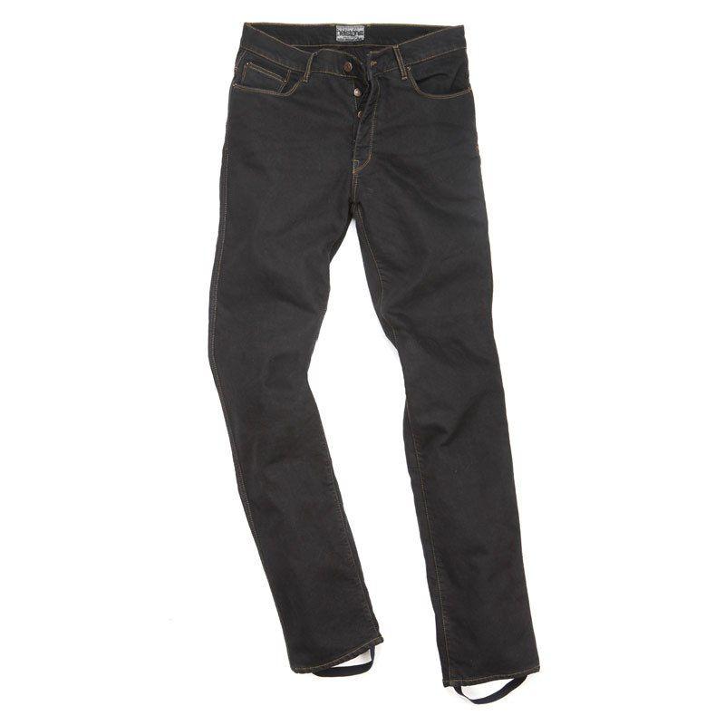 Helstons Dena Ladies Jeans Black