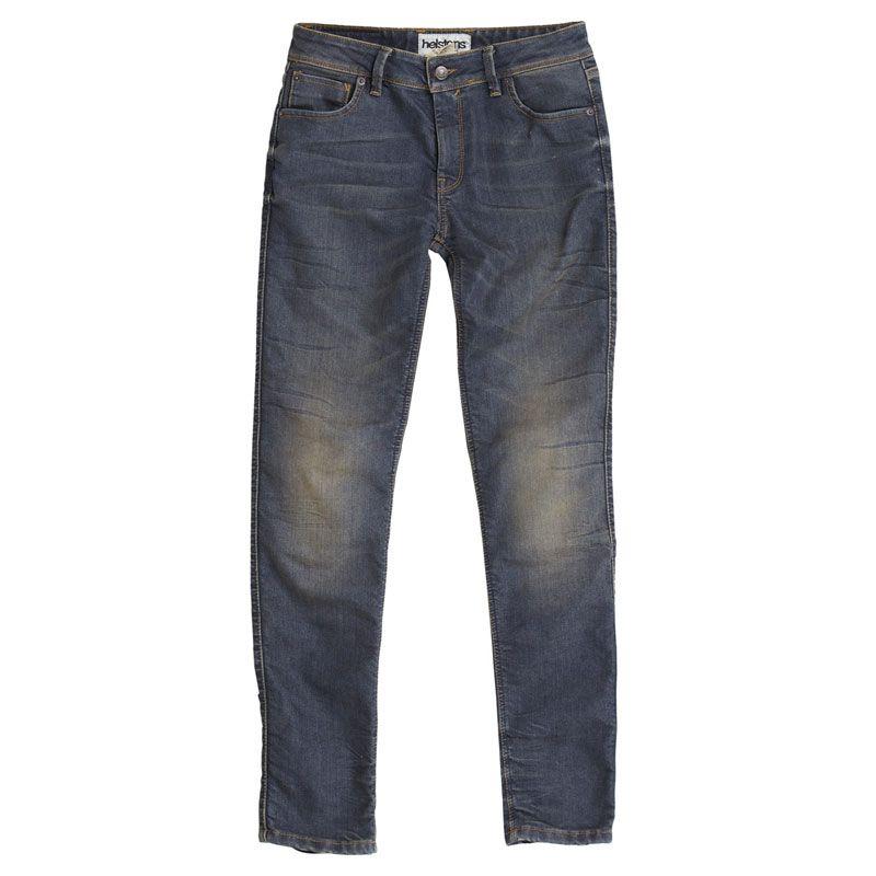 Helstons Dena Dirty Dame Jeanshose blau