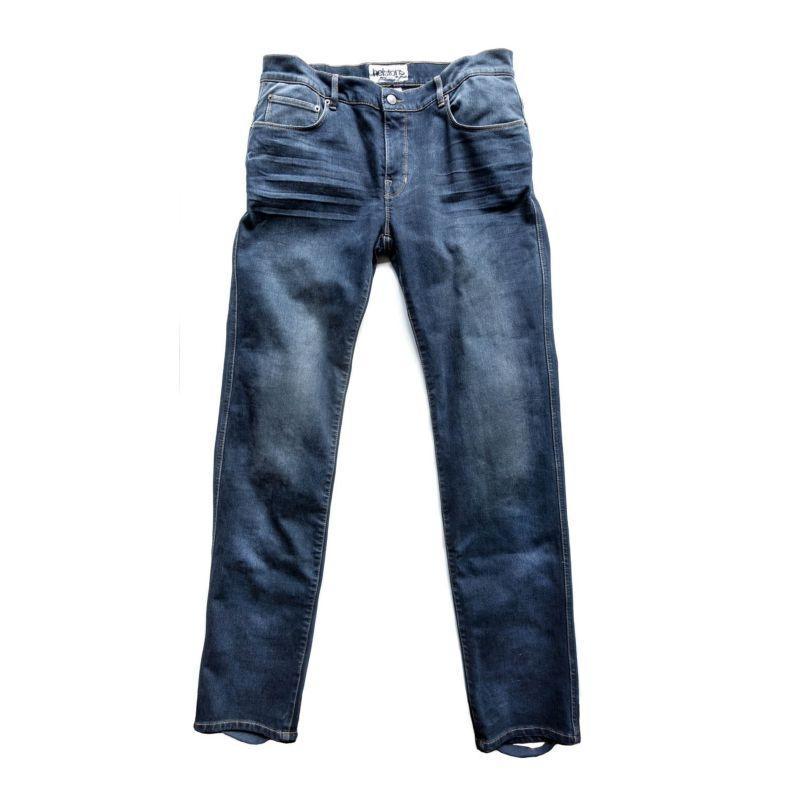 Helstons Superstretch Dame Jeanshose blau