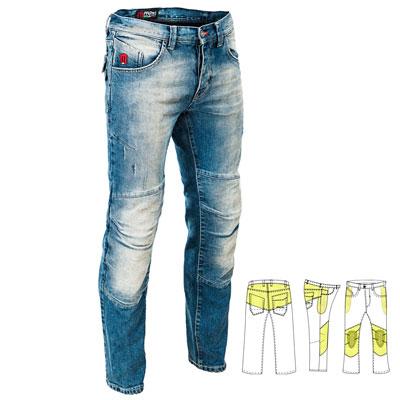 PMJ Vegas Jeans Mittelblau