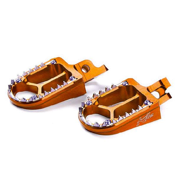 Footpegs Kite KTM SX-SXF-EXC-EXCF orange