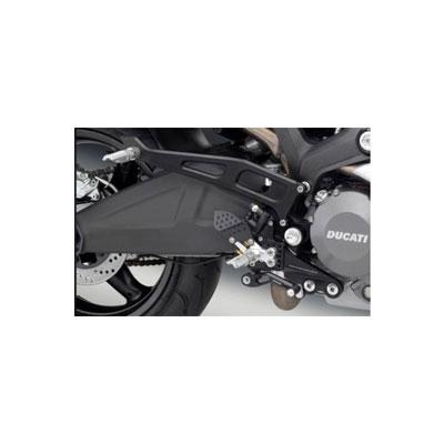 Rizoma Kit Pedane Passeggero Ducati Monster Nero