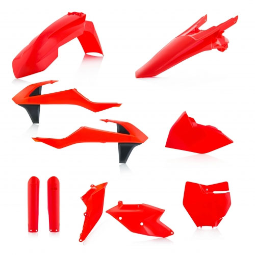 Acerbis Plastic Full Kits Ktm Sx - Sx-f 16/18 Fluor Orange