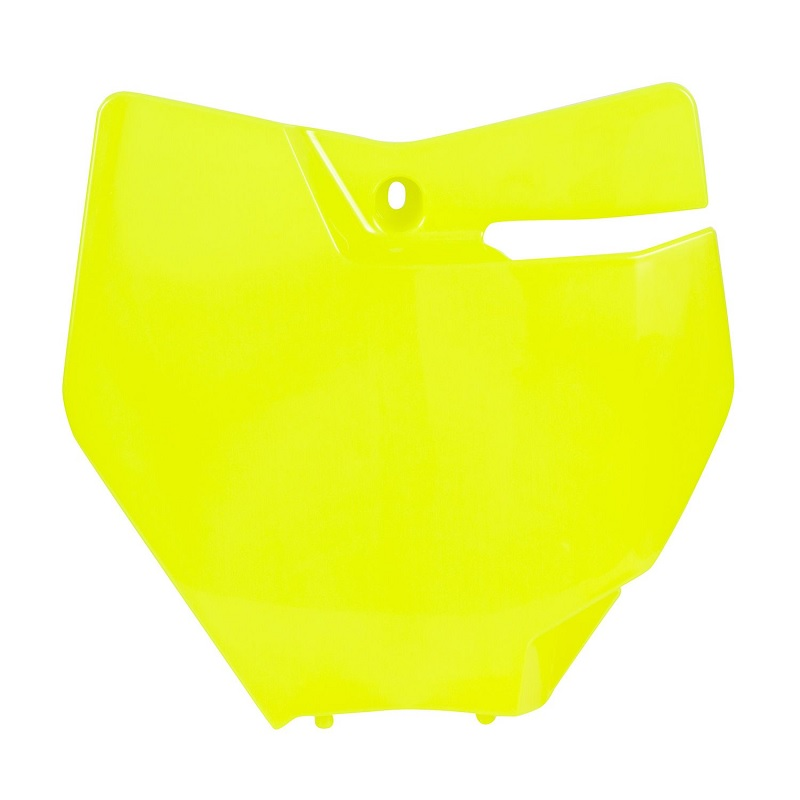 Acerbis Front Number Plate Ktm Yellow