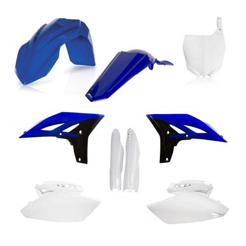 Acerbis Full Plastic Original Kit 0013983 For Yamaha Yzf 250 10-13