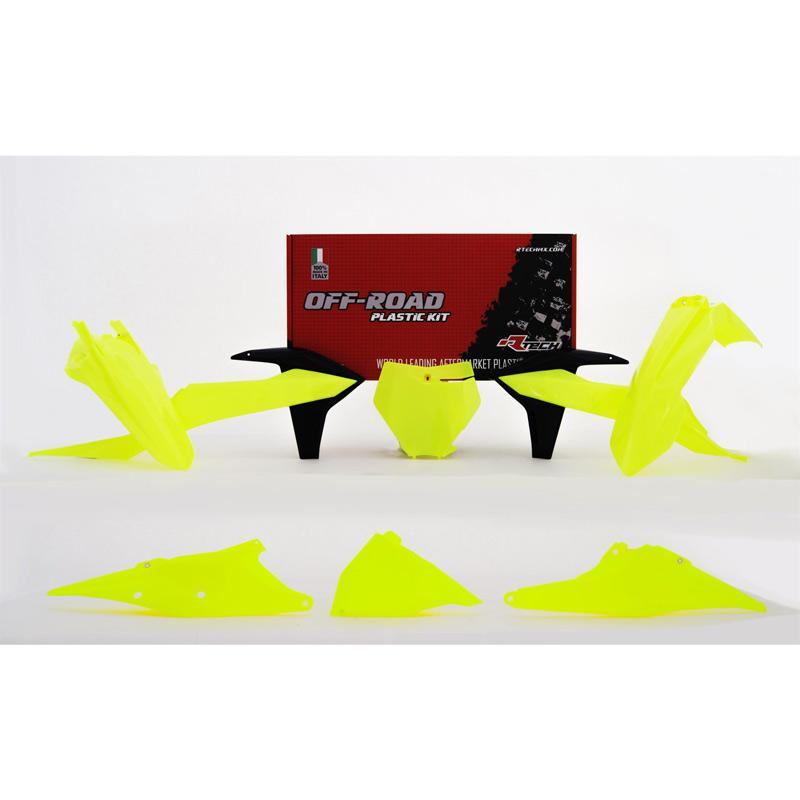 Racetech Plastics Kit Replik Ktm 2019 6pzs gelb