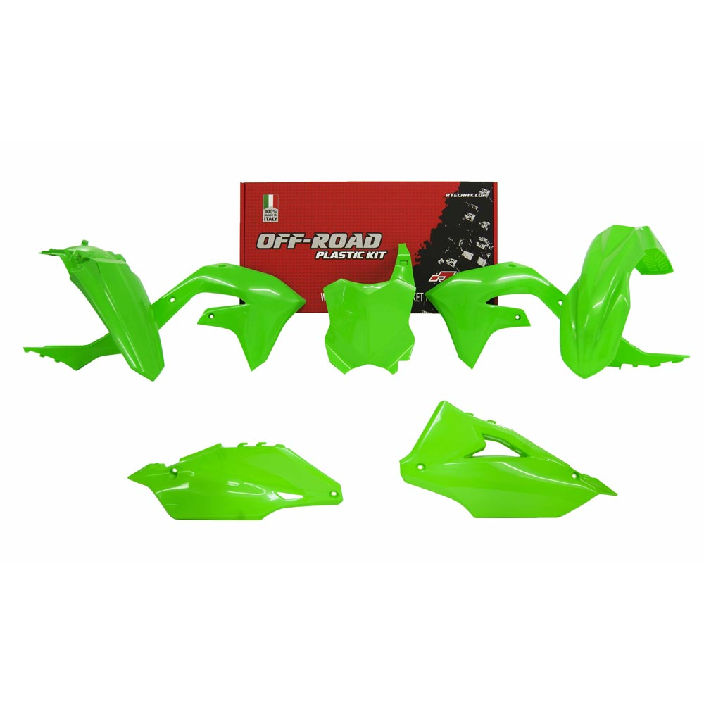 Racetech Replica Kunststoff-Kit Kawasaki KXF grün