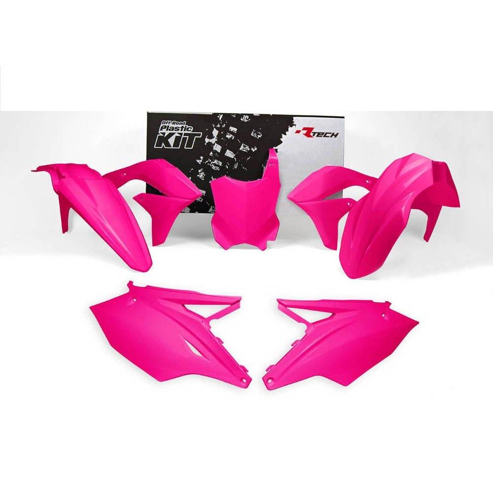 Racetech Replica Kunststoff-Kit Kawasaki KXF rosa