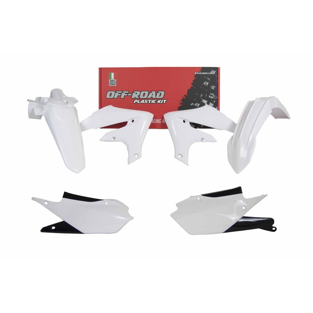 Racetech Replica Plastics Kit 4pc Yamaha White