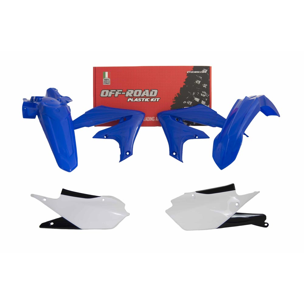Racetech Kunststoff Kit Replica 5pz Yamaha WRF blau