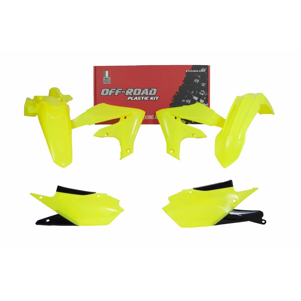Racetech Replica Plastics Kit 4pc Yamaha Wrf Fluo