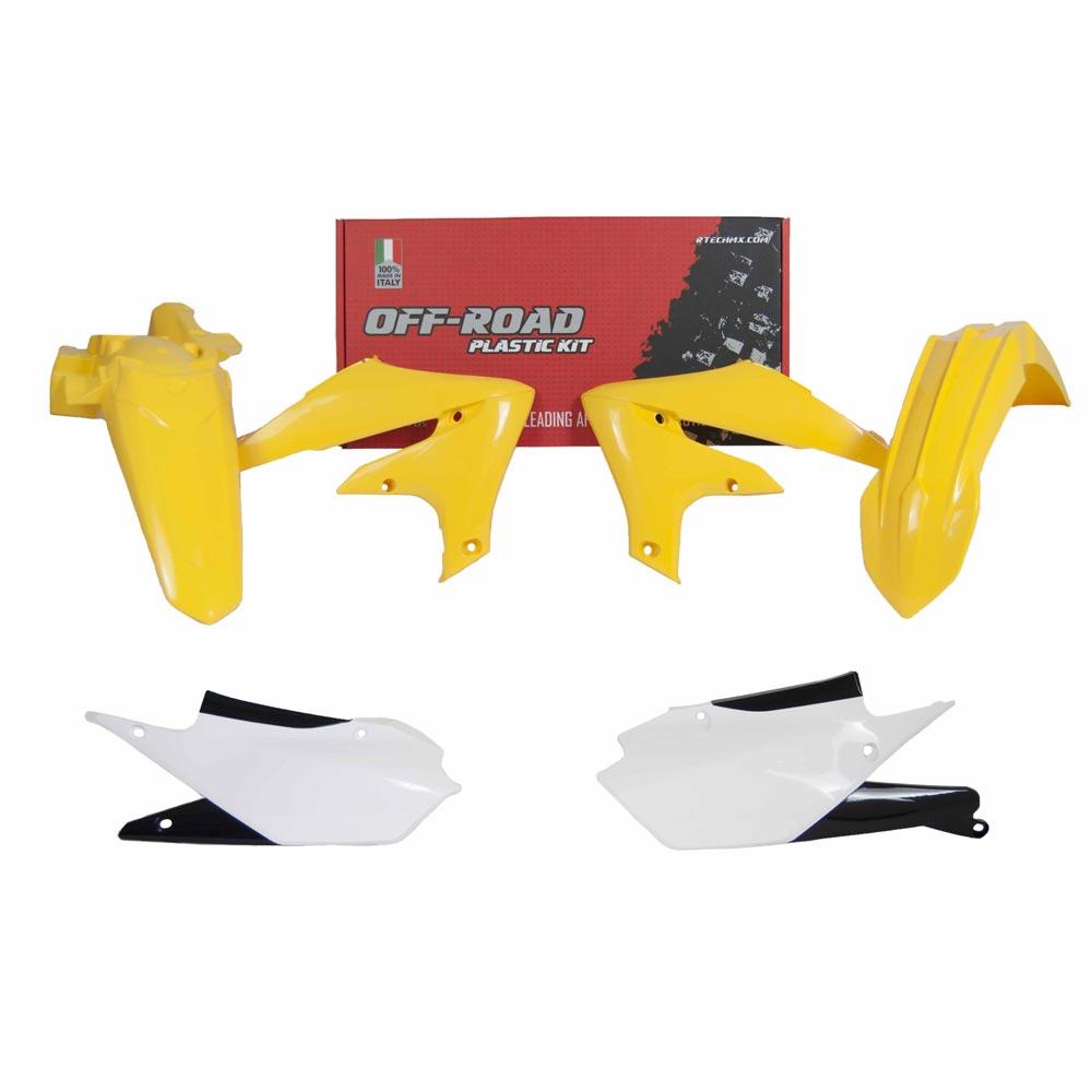 Racetech Replica Kunststoff-Kit 4pz Yamaha WRF gelb