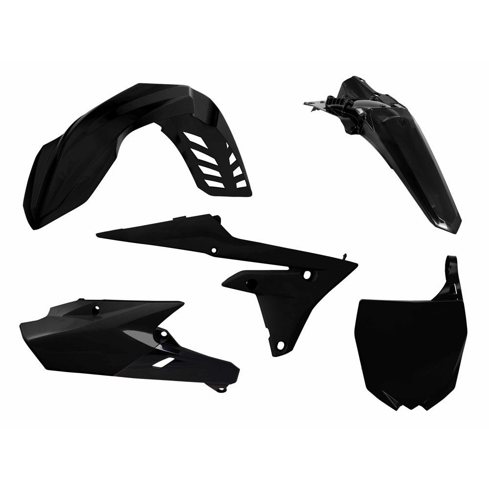 Racetech Replica Kunststoff-Kit Yamaha WRF/YZY schwarz