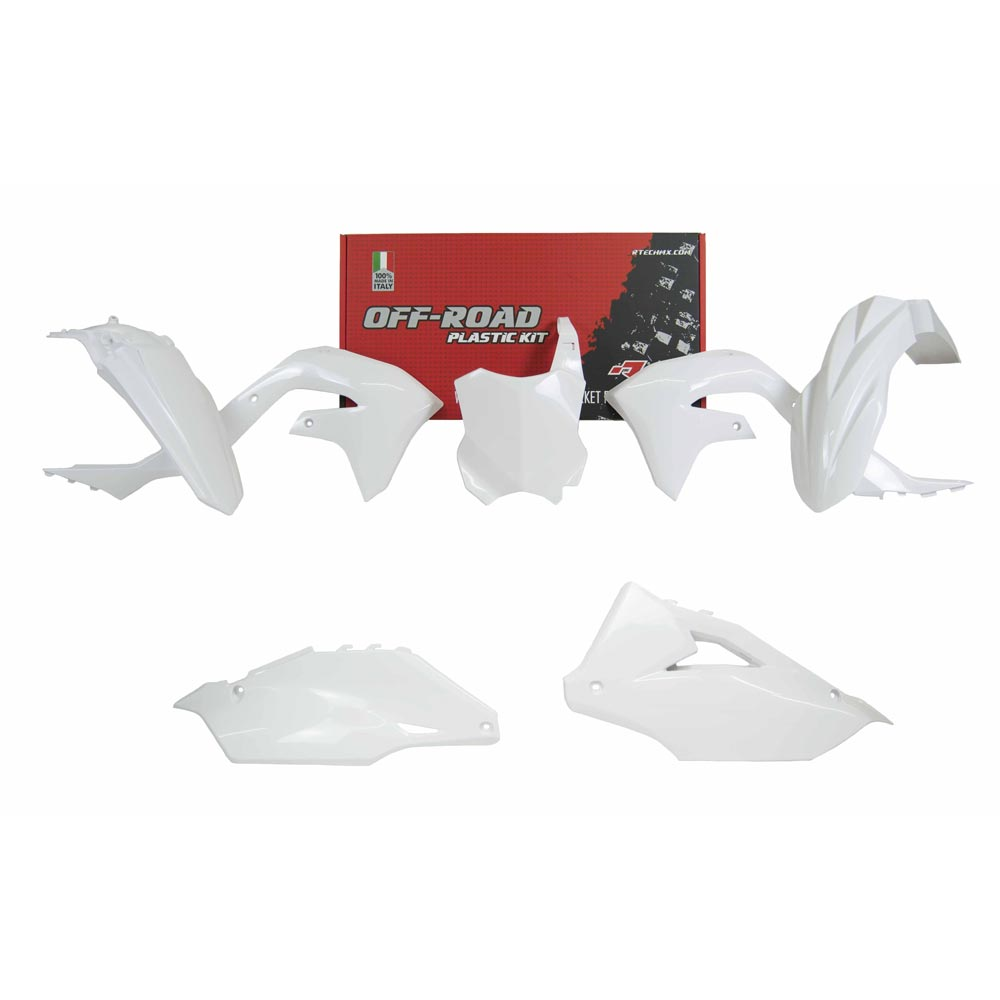 Racetech Replica Plastics Kit Kxf 2019 White