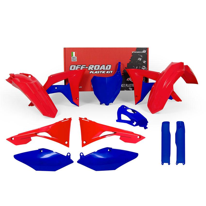 Racetech Plastic Kits Honda Replica 2018 Red Blue