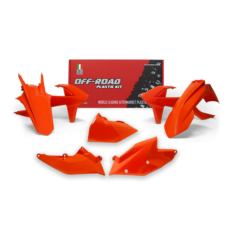 Racetech Plastic Kits Replica Ktm 2018 Orange