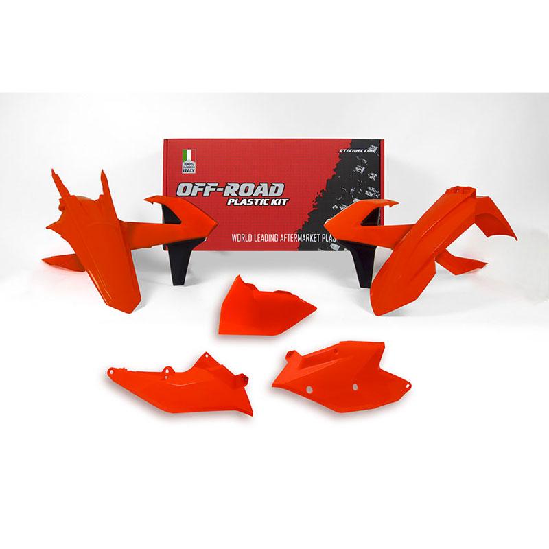 Racetech Plastic Kits Replica Ktm 2018 Fluo Orange 417