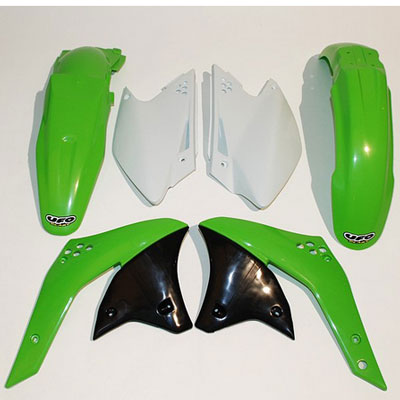 Ufo Kit Plastics For Kawasaki Kxf 250 2006