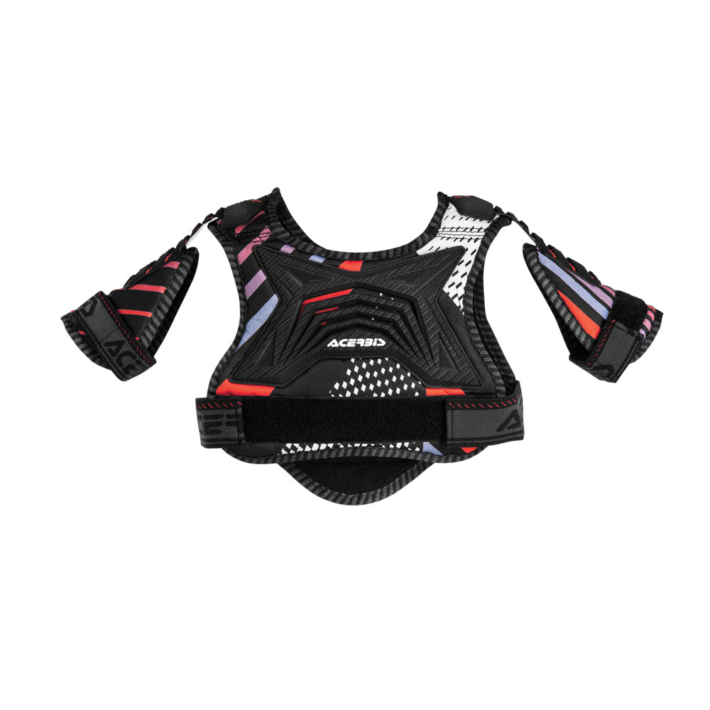 Acerbis Cub 2.0 Black Red Junior Chest Protector